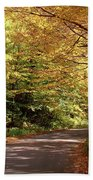 Mountain Road Stowe Vt Bath Towel