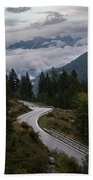 Mountain Road Hand Towel