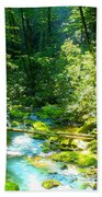 Mountain Stream Bath Towel
