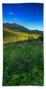 Mountain Wildflowers And Light Whispers Bath Towel