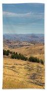 Mountainous Terrain In Central Oregon Hand Towel