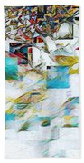 Snowy Mountains Bath Towel
