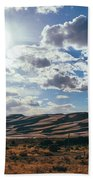 Mountains Of Sand Hand Towel