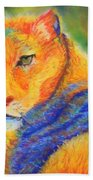 Mountian Lion 1 Bath Towel