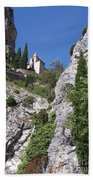 Moustier St. Marie Church Hand Towel