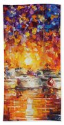 Movement Of The Sea Hand Towel