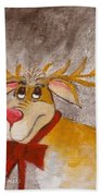 Mr Reindeer Bath Towel