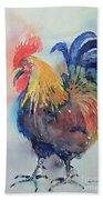 Mr Rooster Bath Towel