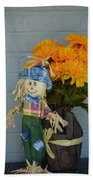 Mr Scarecrow Bath Towel