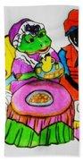 Mrs. Mouse Tea Party Bath Towel
