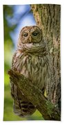 Mrs. Owl Bath Towel
