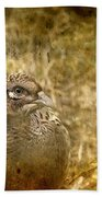 Mrs Pheasant Bath Towel