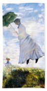 Ms Monet Blown Away  Bath Towel