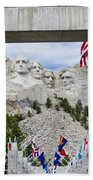 Mt Rushmore Entrance Bath Towel