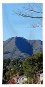 Mt Tamalpais View From Mill Valley Bath Towel