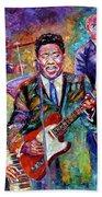 Muddy Waters And His Band Bath Towel
