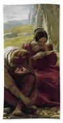 Mulready: Sonnet, 1839 Bath Towel