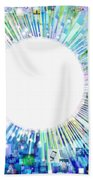 Multimedia Screen And Graphic Design Hand Towel