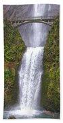 Multnomah Falls 1 Bath Towel