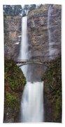 Multnomah Falls 3 Bath Towel