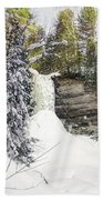 Munising Fall Upper Michigan Bath Towel