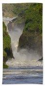Murchison Falls, Uganda Bath Towel