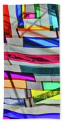 Museum Atrium Art Abstract Bath Towel