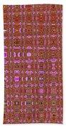 Mushroom # 7979 Abstract Bath Towel