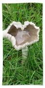 Mushroom Heart Bath Towel