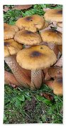 Mushrooms Bath Towel
