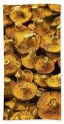 Mushrooms In Spain Bath Towel