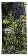 Mushroom Colony Bath Towel