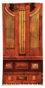 Music - Organist - Skippack  Ville Organ - 1835 Bath Towel