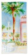 Music At Orange Beach Bath Towel