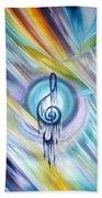 Music Reflexion Bath Towel