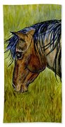Mustang Stallion Bath Towel