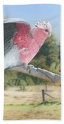 My Country - Galah Bath Towel