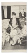 My Family, Second Stone George Bellows  Bath Towel