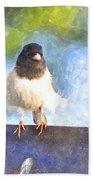 My Feathers Bath Towel