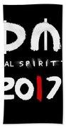 My Global Spirit Tour 2017 - White Bath Towel
