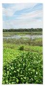 Myakka River And Marshes Bath Towel