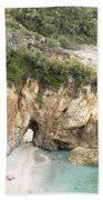 Mylopotamos Beach, Pelion, Greece Bath Towel