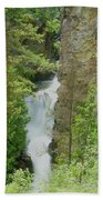 Myrtle Creek Falls  Bath Towel