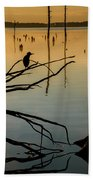 Mystical Sunrise On The Lake Bath Towel