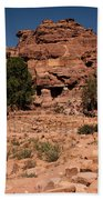 Nabatean's Village Bath Towel