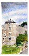 Namur, Citadelle Et Pont Des Hollandais Bath Towel