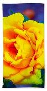 Nana's Yellow Rose Bath Towel