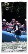 Nantahala River Rafting Bath Towel