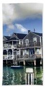 Nantucket Harbor In Summer Hand Towel