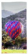 Napa Valley Morning Balloon Bath Towel